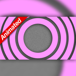 Video Transition Pink Circles