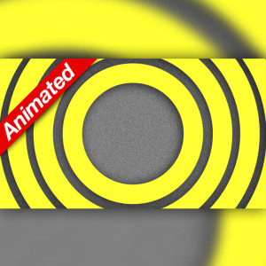 Video Transition Yellow Circles