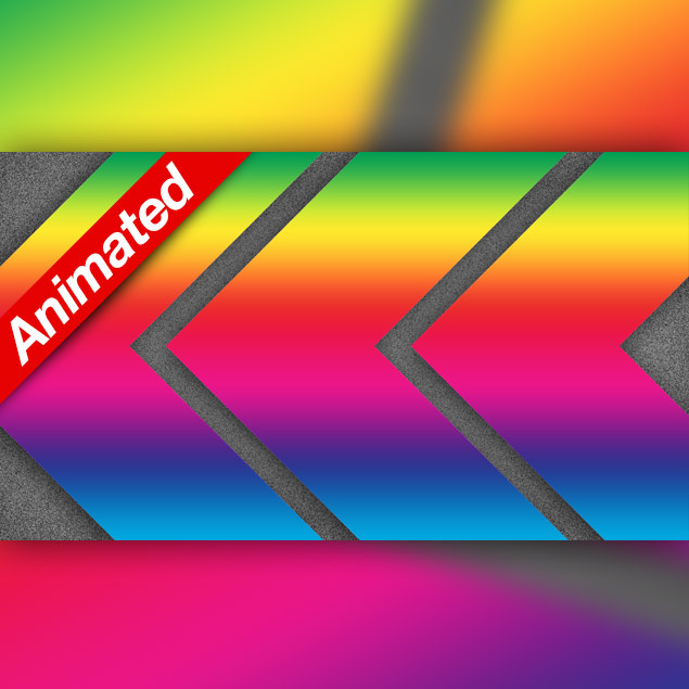 Video Transition Rainbow