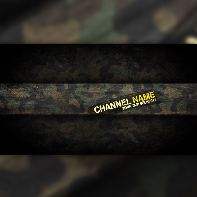Camo YouTube Header