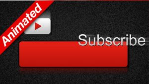 Red Animated Subscribe Button