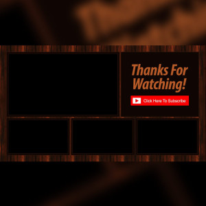 YouTube End Slate