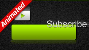Green Animated Subscribe Button