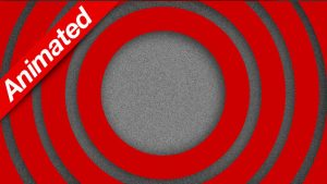 Video Transition Red Circles