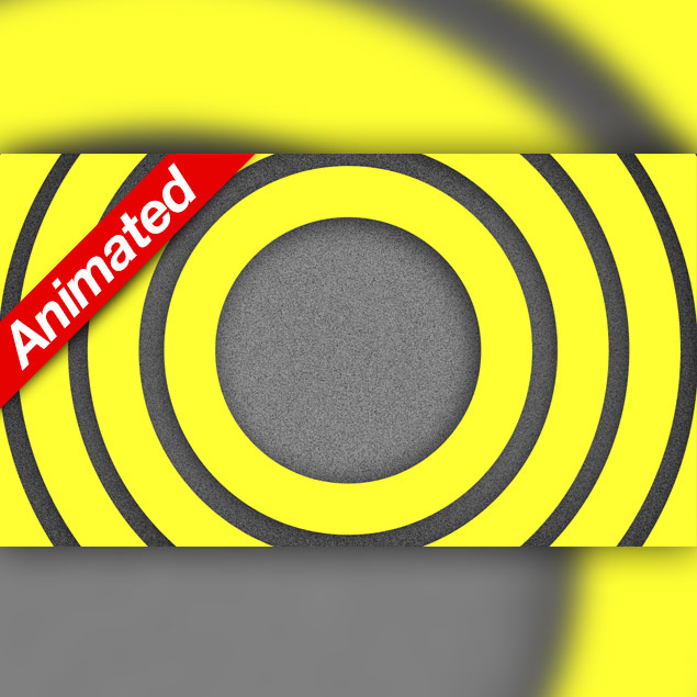 Video Transition Yellow Circles