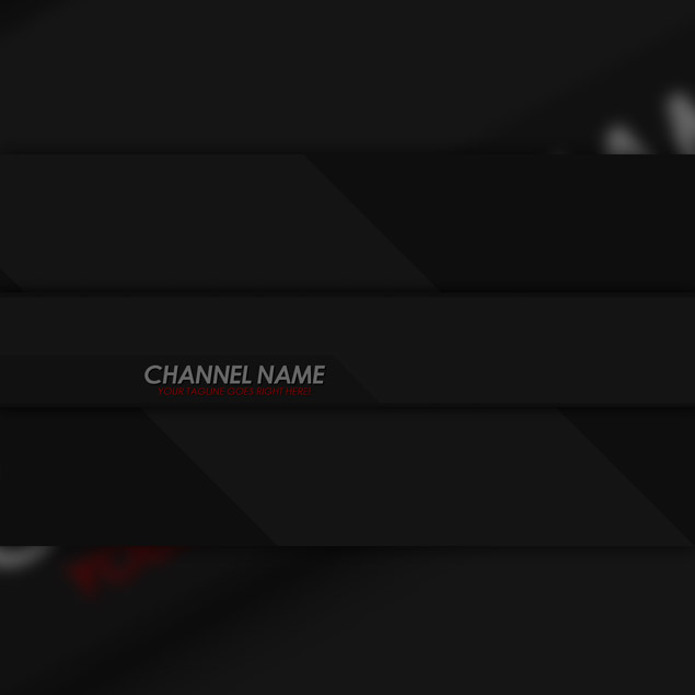 Dark YouTube Header