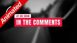 Let Me Know Comments